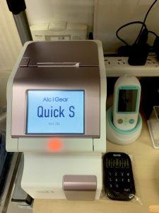 HbA1C分析装置+血糖分析装置